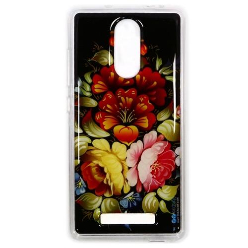 Накладка силиконовая IceTwice Xiaomi Redmi Note 3 Хохлома №305