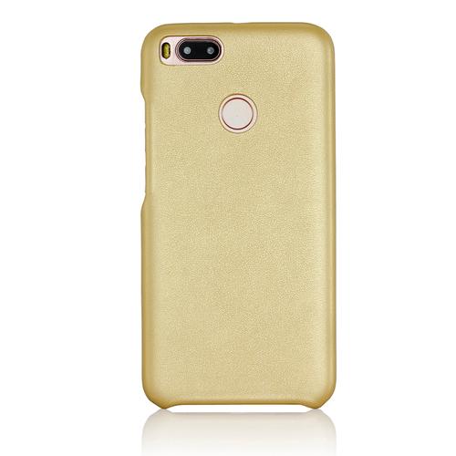 Накладка кожаная G-Case Slim Premium для Xiaomi Mi5X/Mi A1 Gold