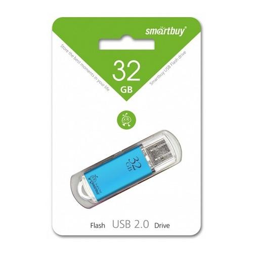 Флешка USB Smartbuy V-Cut (32Gb) Blue