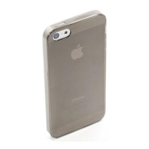 Накладка силиконовая Goodcom Ultra slim iPhone 5/5S Black