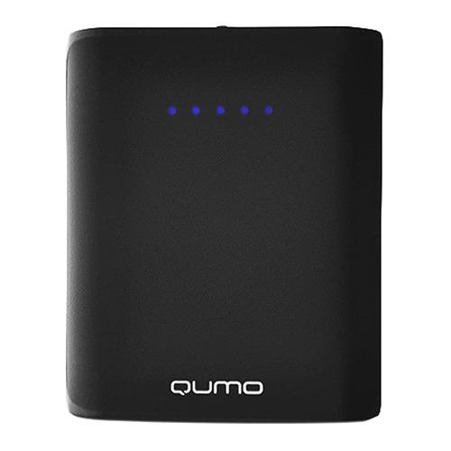 Внешний аккумулятор Qumo PowerAid 7800 mAh Black