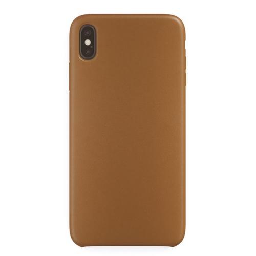 Накладка кожаная uBear Capital Leather Case iPhone Xs Max Brown фото