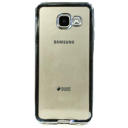 Накладка силиконовая DF Samsung Galaxy A3 (2016) Silver