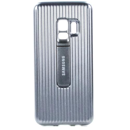 Накладка Samsung Protective Standing Cover для Galaxy S9 (EF-RG960CSEGRU) Silver