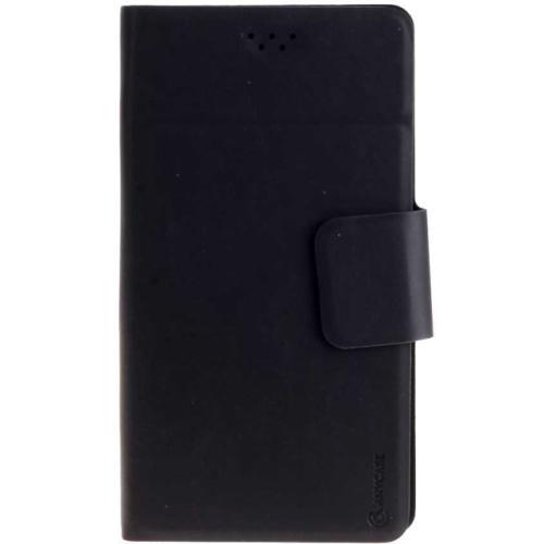 """Чехол-книжка Anycase Wallet Fold S универсальный (3.5""""-4.3"""") Black фото"""