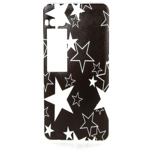 Накладка силиконовая Goodcase Meizu Pro 7 Белые звезды