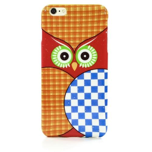 Накладка силиконовая iPhone 6 Plus Сова (SDST)