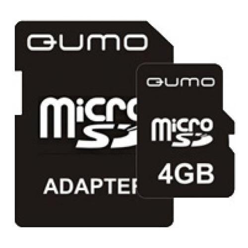 карта памяти Qumo microSD 4Gb (class 10)