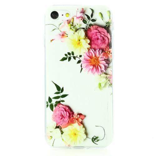 Накладка силиконовая BoraSCO ArtWorks iPhone 7/8 Букет New