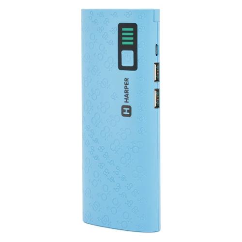 Внешний аккумулятор Harper PB-10007 10000 mAh Blue