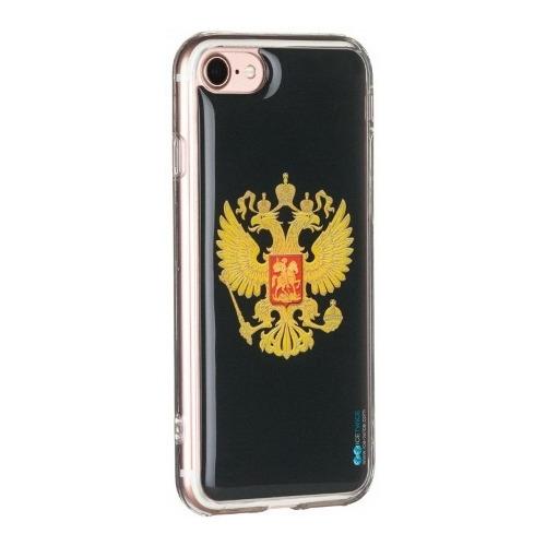 Накладка силиконовая IceTwice iPhone 7 / iPhone 8 Герб №402