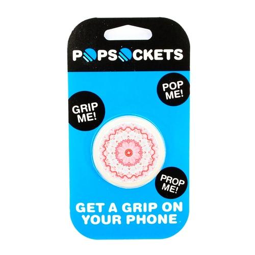 Держатель Goodcom для смартфонов PopSocket Mandala Pink