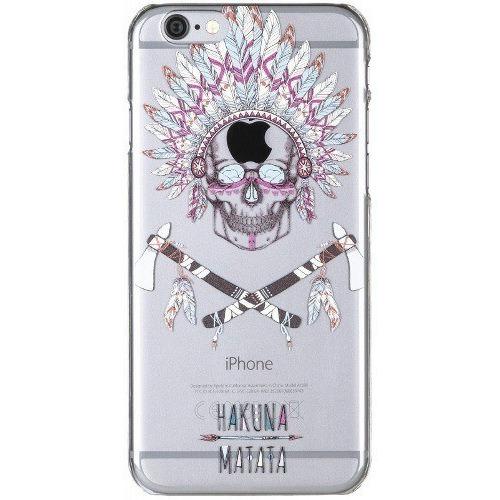 Накладка пластиковая Deppa Art Case iPhone 6/6S Plus Hakuna Matata Череп фото