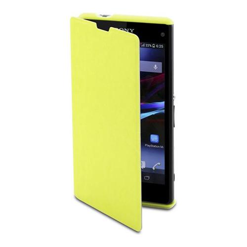Чехол-книжка Muvit Sony Xperia Z1 Compact Easy Folio Lime