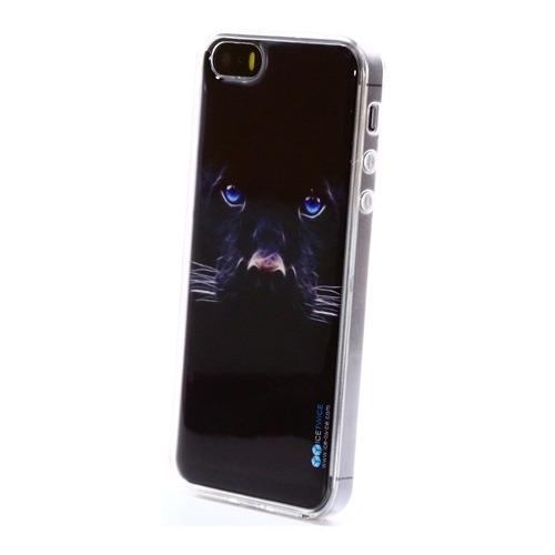 Накладка силиконовая IceTwice iPhone 5/5S Пантера №172