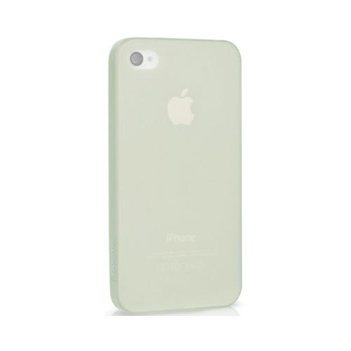 Накладка пластиковая iPhone 4/4S Ultra-Slim 0,35мм White