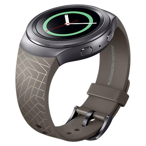 Ремешок Samsung для Samsung Gear S2 Band (ET-SRR72MDEGRU) Brown