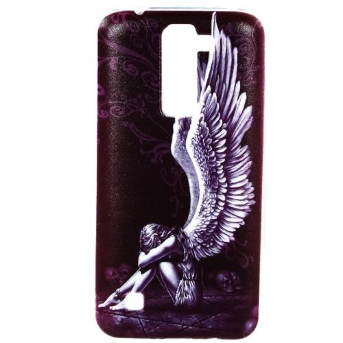 Накладка силиконовая Goodcase LG K7 Ангел