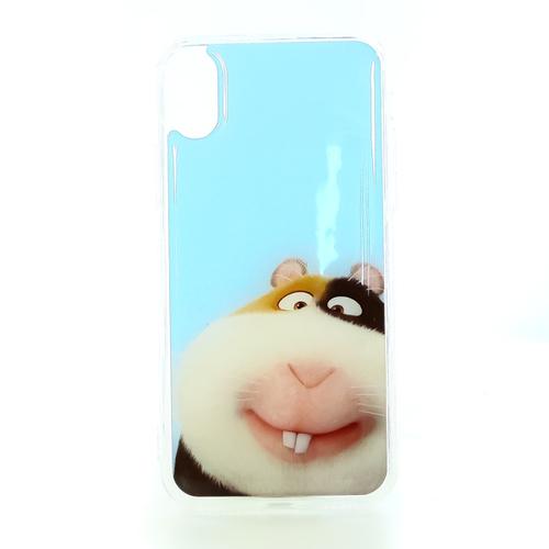Накладка силиконовая IceTwice iPhone X Хомяк №1198