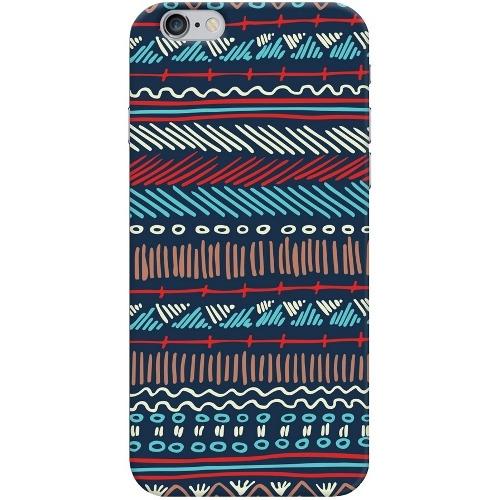 Накладка пластиковая Deppa Art Case iPhone 6/6S Pattern Тёмный