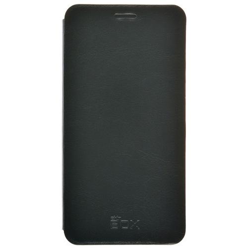 Чехол - книжка skinBox Lux Meizu Pro 6 Black