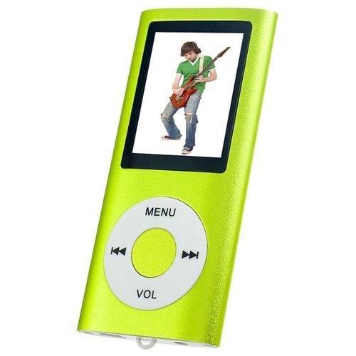 Плеер Mp3 Perfeo i-Sonic MP4 VI-M011 квадрат, Green