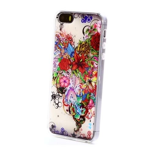 Накладка силиконовая IceTwice iPhone 5/5S/SE Букет №540
