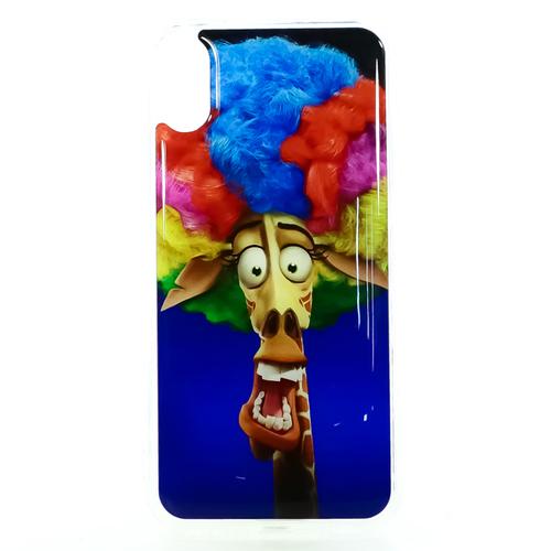 Накладка силиконовая IceTwice iPhone X Жираф №1190