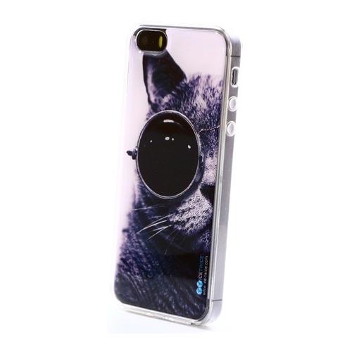 Накладка силиконовая IceTwice iPhone 5/5S/SE Swag Кот №891