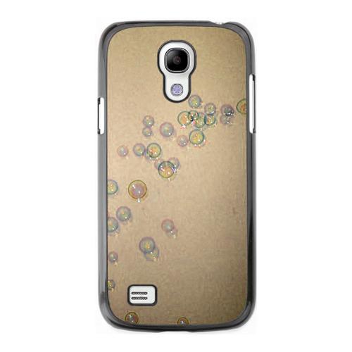 Накладка силиконовая Samsung I9190 Galaxy S 4 Mini Bubble Brown Blue