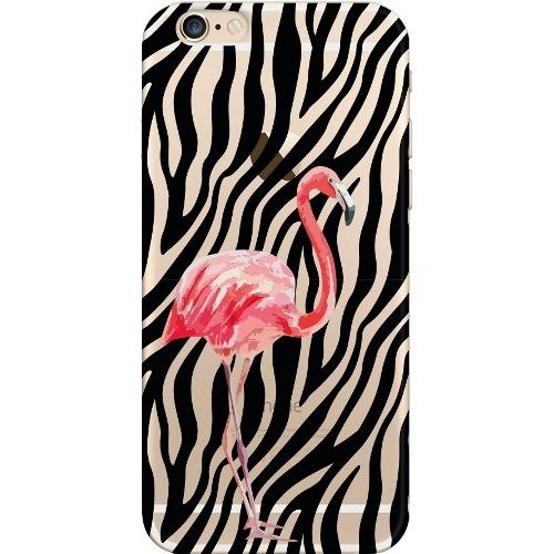 Накладка пластиковая Deppa Art Case iPhone 6/6S Jungle Фламинго