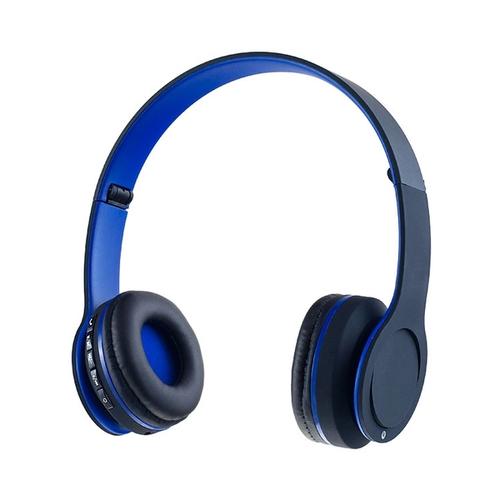 Беспроводные накладные наушники Perfeo FLEX синяя