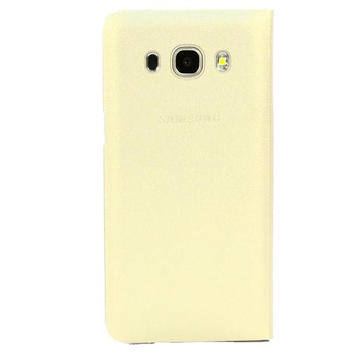 Чехол - книжка Samsung Flip Wallet Galaxy J5 (2016) (EF-WJ510PFEGRU) Gold