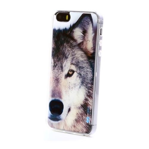 Накладка силиконовая IceTwice iPhone 5/5S/SE Волк №846