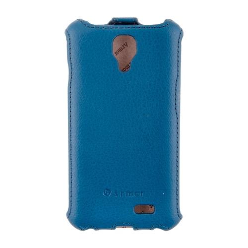 Чехол-флип для LG F70 D315K, Armor, голубой