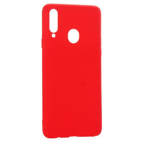 Накладка силиконовая Deppa Gel Color Case Samsung Galaxy A30/A20 Red фото