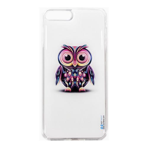 Накладка силиконовая IceTwice iPhone 7 Plus Сова №730