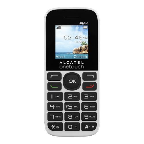 Телефон Alcatel OT-1013D White