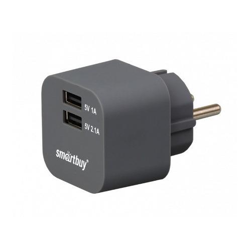Сетевое зарядное устройство Smartbuy Volt на 2USB 3.1A SPB-2100