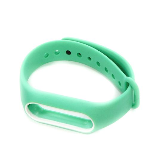 Ремешок Goodcom для фитнес-браслета Xiaomi Mi Band 2 Turquoise-White