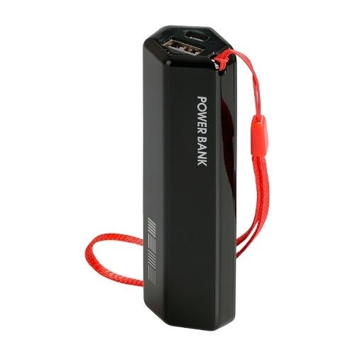 Купить со скидкой Внешний аккумулятор InterStep PB30001U универсальный 3000 mAh Black Red