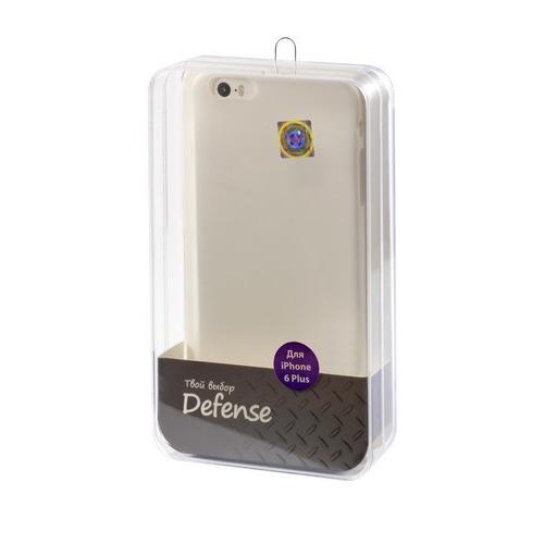 Накладка пластиковая Vertex iPhone 6 Plus Ultra Slim (CCI6PTW) White