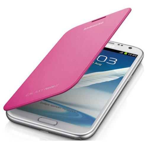 Чехол-книжка Flip Cover Samsung Galaxy Note II N7100 Pink