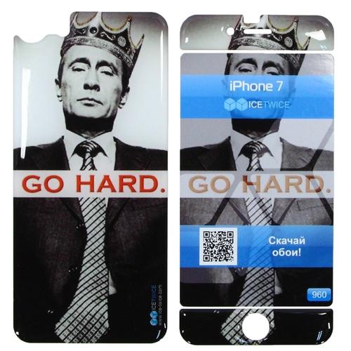 Наклейка силиконовая IceTwice iPhone 7 / iPhone 8 Путин №960