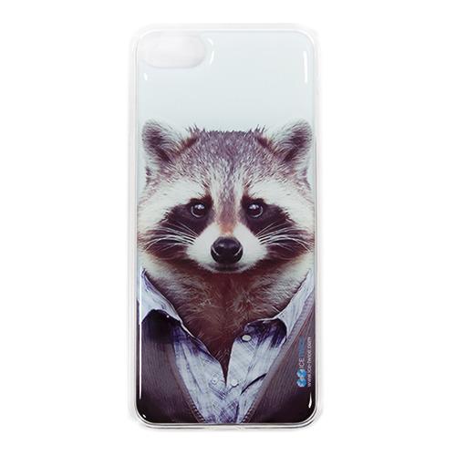 Накладка силиконовая IceTwice iPhone 7 / iPhone 8 Енот №986