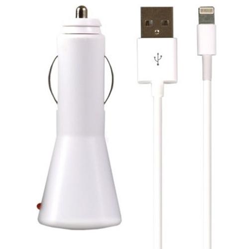 АЗУ SmartBuy Nova SBP-1110 + кабель 8-pin 2100mAh White