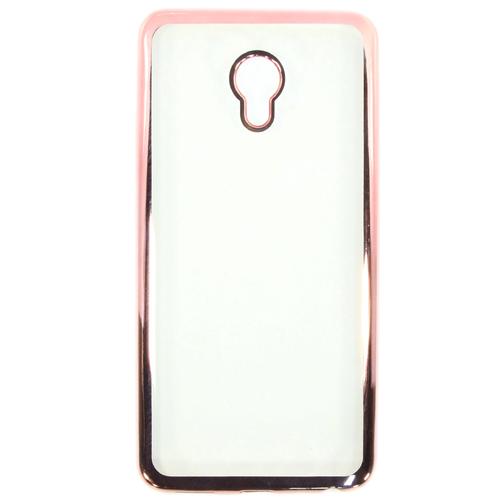 Накладка силиконовая Goodcase Meizu M3E Pink