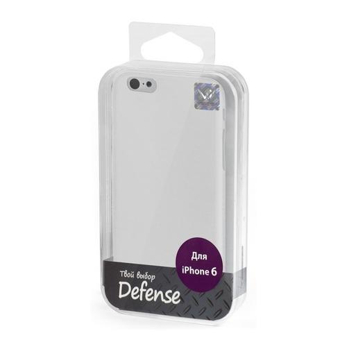 Накладка пластиковая Vertex iPhone 6 Ultra Slim (CCRI6TW) White