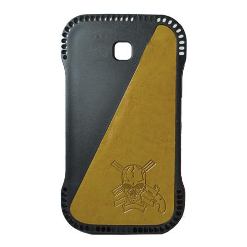 Накладка пластиковая Samsung I9300 Galaxy SIII Череп Yellow