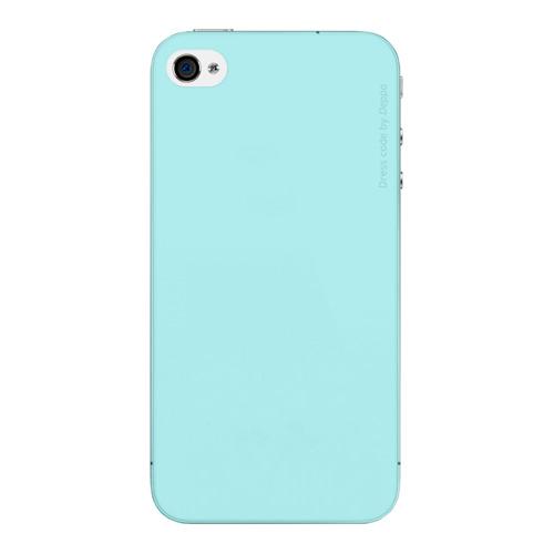 Накладка пластиковая Deppa Sky Case iPhone 4/4S 0.33mm Mint